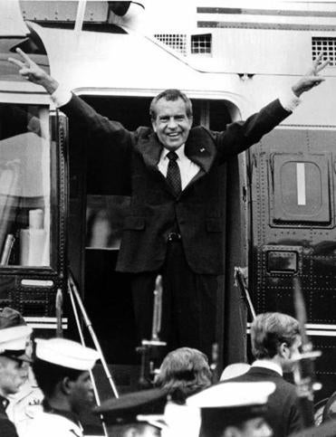 President Richard Nixon ultimately resigned rather than test out any legal recommendations from his team.